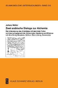 Cover Zwei arabische Dialoge zur Alchemie