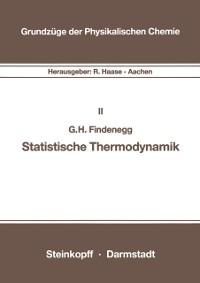 Cover Statistische Thermodynamik
