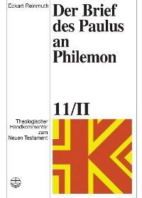Cover Der Brief des Paulus an Philemon