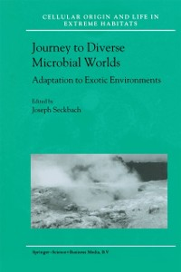 Cover Journey to Diverse Microbial Worlds