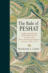 Cover The Rule of Peshat