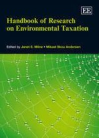 Cover Handbook of Research on Environmental Taxation