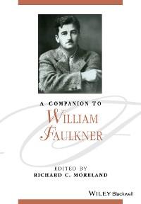 Cover A Companion to William Faulkner