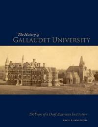 Cover History of Gallaudet University