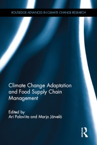 Cover Climate Change Adaptation and Food Supply Chain Management