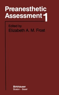 Cover Preanesthetic Assessment 1