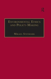 Cover Environmental Ethics and Policy-Making