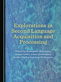 Cover Explorations in Second Language Acquisition and Processing