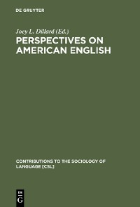 Cover Perspectives on American English