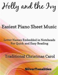 Cover Holly and the Ivy Easiest Piano Sheet Music