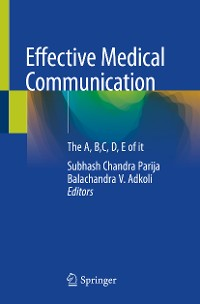 Cover Effective Medical Communication