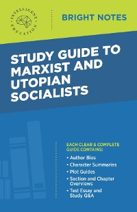 Cover Study Guide to Marxist and Utopian Socialists