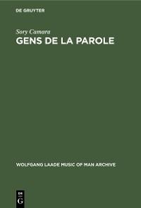 Cover Gens de la parole