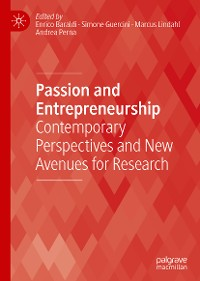 Cover Passion and Entrepreneurship
