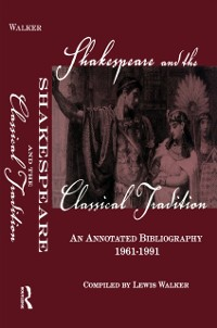 Cover Shakespeare and the Classical Tradition