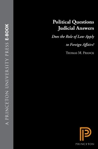 Cover Political Questions Judicial Answers