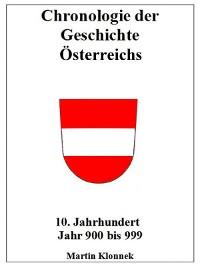 Cover Chronologie Österreichs 10