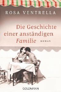 Cover Die Geschichte einer anständigen Familie