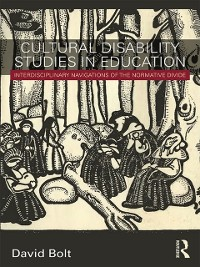 Cover Cultural Disability Studies in Education