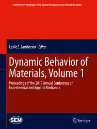 Cover Dynamic Behavior of Materials, Volume 1