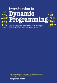 Cover Introduction to Dynamic Programming