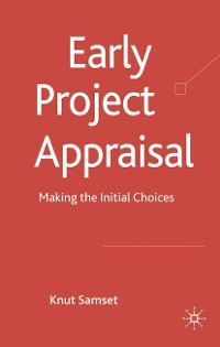 Cover Early Project Appraisal