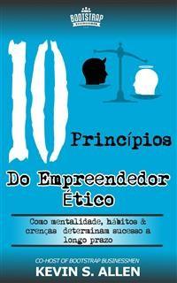 Cover Os 10 Princípios Do Empreendedor Ético