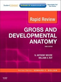 Cover Rapid Review Gross and Developmental Anatomy E-Book