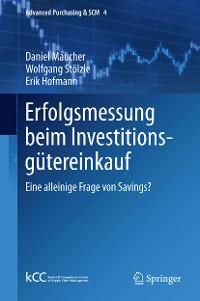 Cover Erfolgsmessung beim Investitionsgütereinkauf