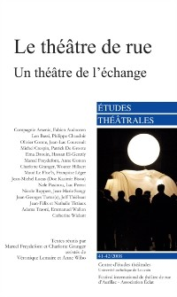 Cover Le theatre de rue