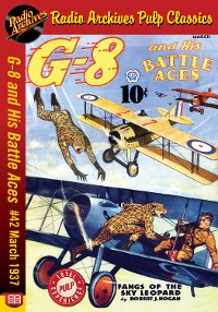 Cover G-8 and His Battle Aces #42 March 1937 F