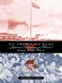 Cover No Sword to Bury