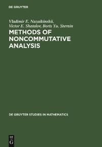 Cover Methods of Noncommutative Analysis