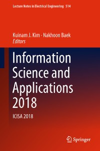Cover Information Science and Applications 2018