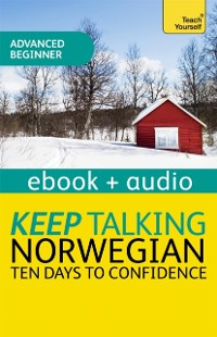 Cover Keep Talking Norwegian Audio Course - Ten Days to Confidence