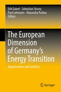 Cover The European Dimension of Germany's Energy Transition