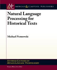Cover Natural Language Processing for Historical Texts