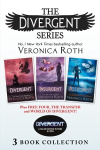 Cover Divergent Series (Books 1-3) Plus Free Four, The Transfer and World of Divergent (Divergent)
