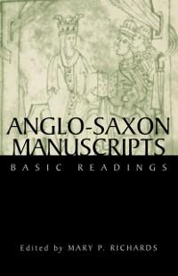 Cover Anglo-Saxon Manuscripts