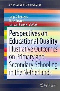 Cover Perspectives on Educational Quality