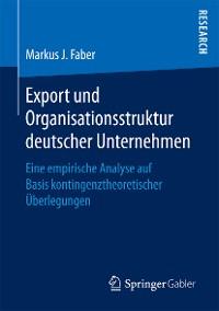 Cover Export und Organisationsstruktur deutscher Unternehmen