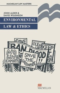 Cover Environmental Law and Ethics
