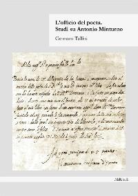 Cover L'officio del Poeta. Studi su Antonio Minturno