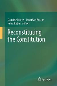 Cover Reconstituting the Constitution