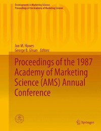 Cover Proceedings of the 1987 Academy of Marketing Science (AMS) Annual Conference