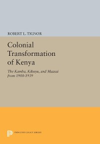 Cover Colonial Transformation of Kenya