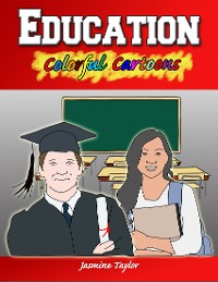 Cover Education Colorful Cartoons