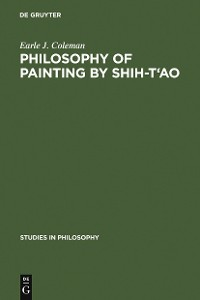 Cover Philosophy of Painting by Shih-T'ao