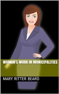 Cover Woman's work in municipalities