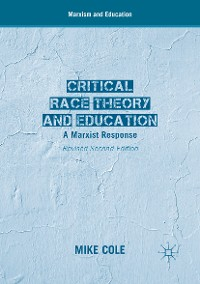 Cover Critical Race Theory and Education